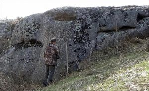 mysterious ice age dragon and griffin stones found in siberia 2 1 300x184