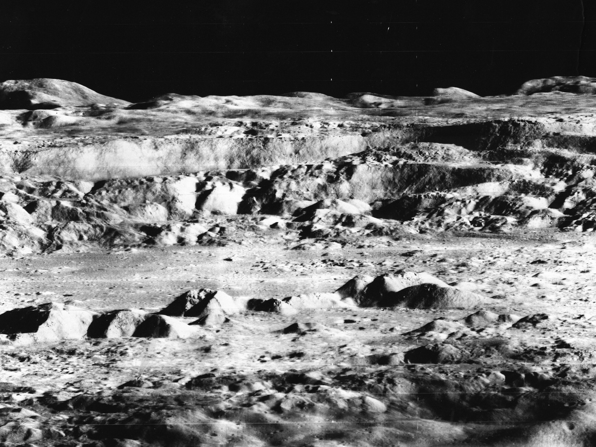 Alien Bases And Craft On The Moon