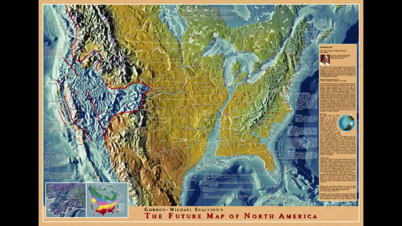 future map of north america gordon michael scallions think aboutit
